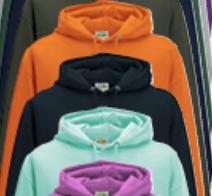Verschiedene Textilfarben